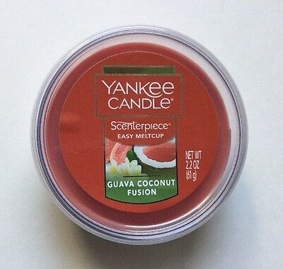 YANKEE CANDLE SCENTERPIECE COCONUT BEACH EASY MELT CUP HTF SCENT