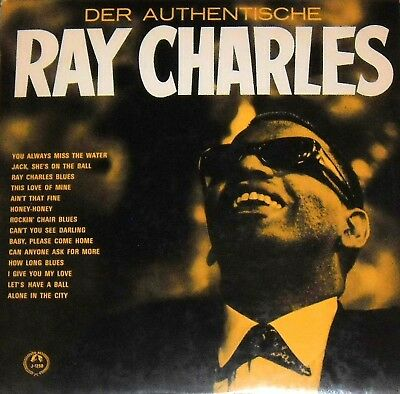 RAY CHARLES: Der authentische Ray Charles (LP 1962)