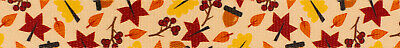 Country Brook Design® 1 Inch Fall Foliage Polyester Webbing, 50 Yards