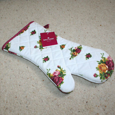 ROYAL ALBERT OLD COUNTRY ROSES OVEN GLOVE by ULSTER WEAVERS GAUNTLET BNWT