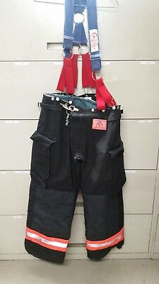 Morning Pride Firefighter Turnout Bunker Pants with Liner 36 x 29, 3/02, (#10)