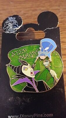 Disney Cast Member Exclusive Need Magic Maleficent Merryweather Oop Rare