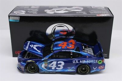 2018 DARRELL WALLACE JR BUBBA #43 Air Force 1:24 Elite 185 Made Diecast