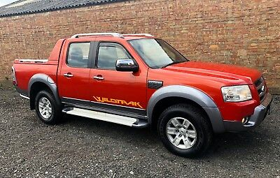 Ford Ranger Wildtrak  3.0 Tdci 156Bhp 2007 57 Plate Crew Cab Pick Up No Vat !!!