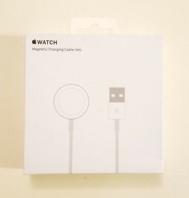Genuine Apple Official Magnetic Charging Cable (1m) (3ft) Apple Watch MKLG2AM/A