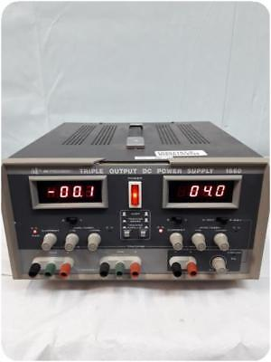 Bk Precision 1660 Triple Output Dc Power Supply @ (201167)