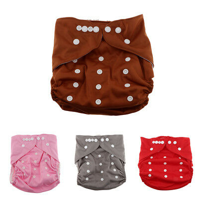 Soft Baby Washable Reusable Waterproof Pocket Nappy Cloth Diaper Cover Wrap
