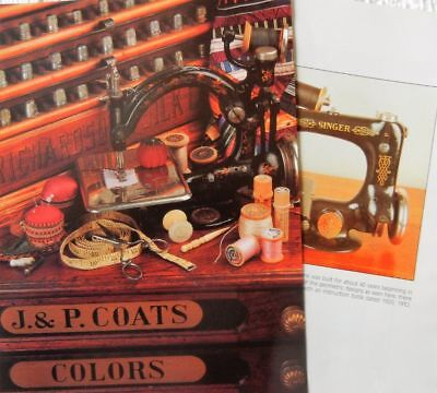 18p History Article + Color Pics -   Antique Sewing Machines