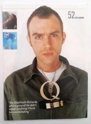 BLUR 'Damian bruised and battered ' magazine PHOTO/Poster/clipping 11x8 inches