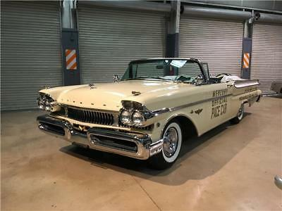 Turnpike Cruiser Pace Car 1957 Mercury Turnpike Cruiser Pace Car, Beautiful Restoration, Rust-Free