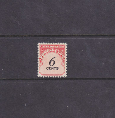 US Stamps - #J94 - 6c 1959 Postage Due Issue - Scarce DULL GUM Variety - MNH