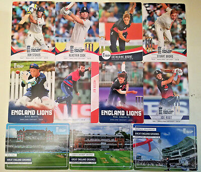 Offical 2018 England CRICKET Trading CARDS # 1-100 Tap n Play pick choose ECB