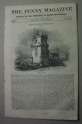 1837: Belem PORTUGAL; Ludgate; OPTHALMOLOGY in China; climate in US & Canada