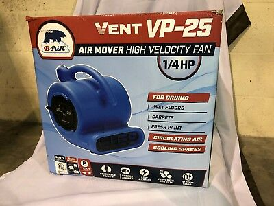 Vent VP-25 Air Mover - Blue
