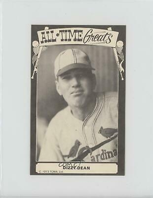 1975 TCMA All-Time Greats Blank Back Dizzy Dean St. Louis Cardinals Card