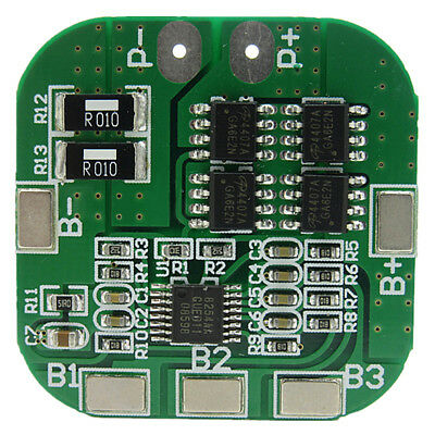 4 string 14.8V battery protection board 16.8V overcharge short circuit 20A L2Y7