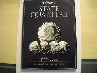 State Quarters Hardcover Display Album 1999 To 2009