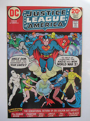 Justice League Of America 107  F/vf (Combined Ship.)(See 12 Photos)(Auction #25)