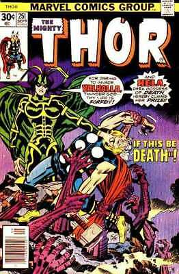 Thor (1966 series) #251 in Very Good + condition. Marvel comics