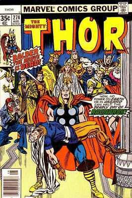 Thor (1966 series) #274 in Very Good + condition. Marvel comics