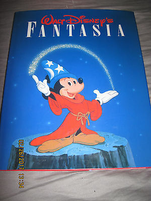 Disney/ Fantasia/1983/ Hardback book