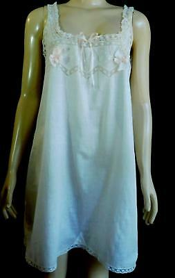Vtg Antique Edwardian 1900s Cotton Lace Cami Knickers Camisole Teddy Slip