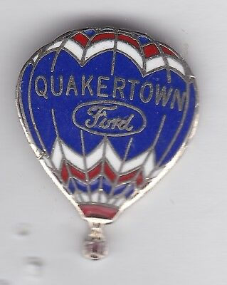 Rare Quakertown Ford Hot Air Balloon pin