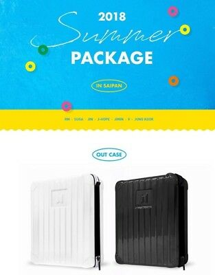 2018 BTS Summer Package In Saipan VOL.4 Black White Random Tracking Number Gift