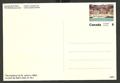 Canada Pre-stamped postcard 1 NF-1 from 1972 unused