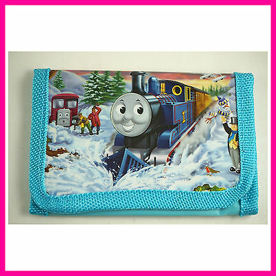 Thomas The Tank Engine Kids Childrens Boys Girls Coins Purse Bag Wallet + Gift