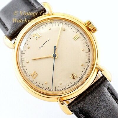Zenith Cal.12/4/P/50, 1945, 18Ct Dress Watch - Beautiful And Immaculate!