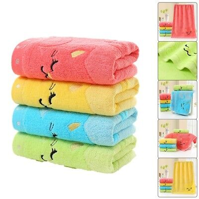 4X Soft Cotton Baby Infant Newborn Bath Towel Washcloth Feeding Wipe Cloth