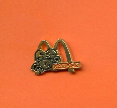 Pins  Mc Donald's  Cancer    H481