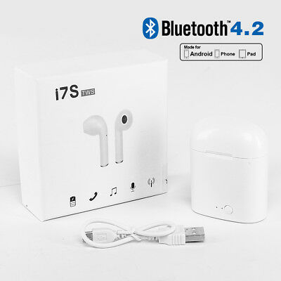 Wireless Bluetooth Earbuds In Ear Headphone Earphone For iPhone 6 7 8 X Andriod