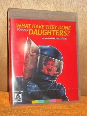 What Have They Done To Your Daughters (Blu-ray, 2018) NEW fast-paced thriller