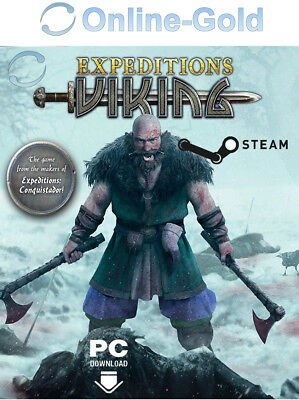 Expeditions: Viking STEAM Download Code PC Strategie game - USK ab 18 [DE][EU]