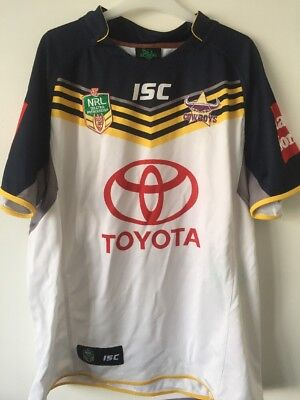Queensland Cowboys Rugby League Shirt Size 3 Xl Good Condition