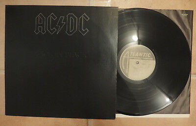 AC/DC - Back In Black RARE Hardrock LP Top Condition RARE GER Press