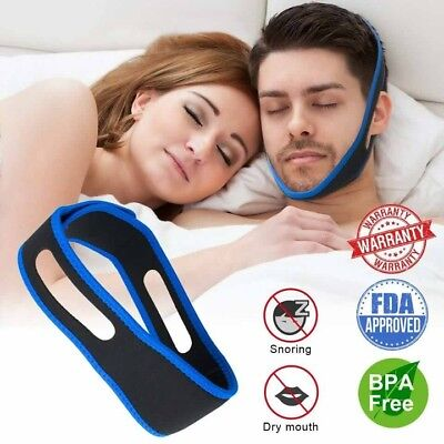 2x Anti Snore chinstrap device/ CPAP chinstrap [ FDA Approved & Premium Quality]