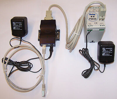 Relay M-Bus Pegelwandler PW20 und Serial Device Server