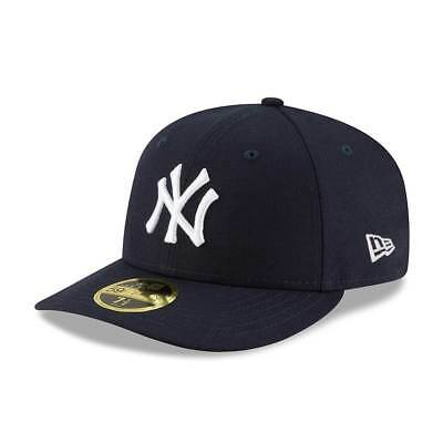 New Era New York Yankees Authentic Low Profile 59FIFTY Fitted MLB Cap Game
