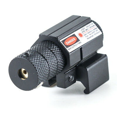 New Red Dot Laser Sight For 20mm Weaver/Picatinny Mount Pistol Hunting Outdoor