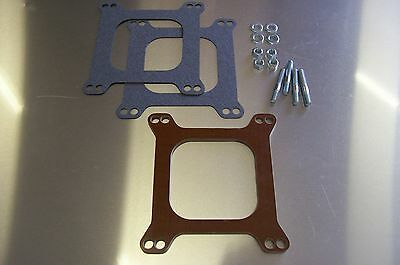 Fits Holley Carter AFB Phenolic Insulator Spacer 4 Barrel Heat Soak Carb Riser