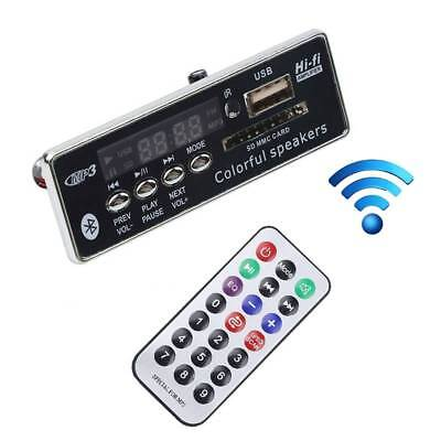 MP3 Decoding Board With Remote Control DIY Bluetooth Module Car Aux Audio Player