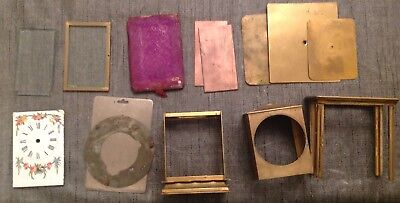 Antique Carriage Clock Parts