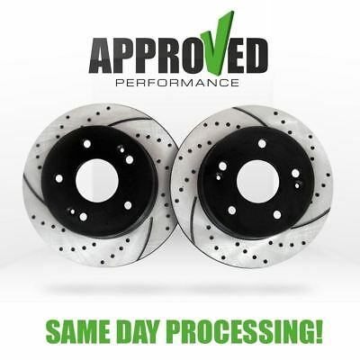C0355 FIT 2000 2001 2002 2003 2004 2005 Ford Excursion 4WD Brake Rotors Pads F