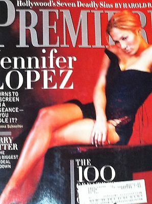 JENNIFER LOPEZ Premiere Magazine August 2000