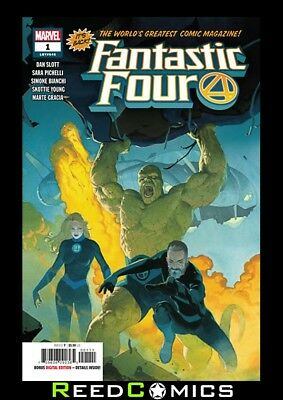 FANTASTIC FOUR #1 (2018 SERIES) Individually Bagged & Boarded Sent In Secure Box