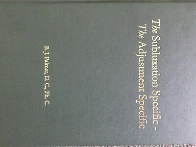 The Subluxation Specific - The Adjustment Specific  Vol 18 Green Book
