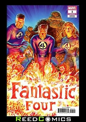 FANTASTIC FOUR #1 ROSS 1:50 VARIANT New Bagged and Boarded Sent In Secure Box